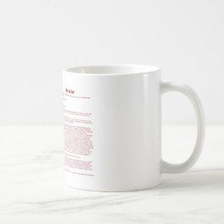 Salvador (meaning) coffee mug