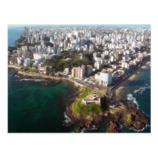 Salvador - Seen Aerial Postcard