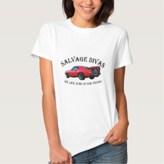 Salvage Divas Junk in the trunk Tee Shirt
