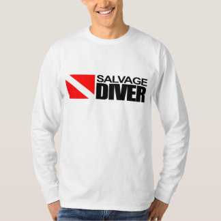 Salvage Diver 4 Apparel T Shirt
