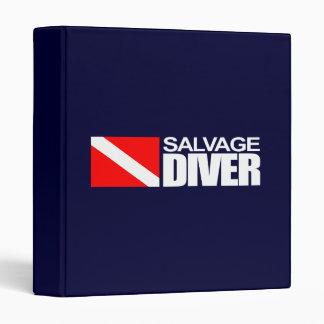 Salvage Diver 4 Vinyl Binder