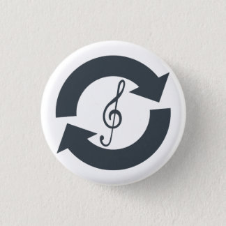"""""""Salvage Sounds"""" Button Badge"""