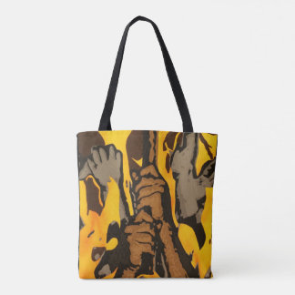 """Salvation"" All-Over-Print Tote Bag"