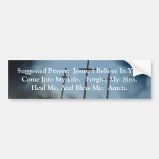 Salvation Bumper Sticker