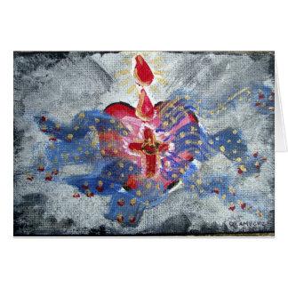 Salvation Heart Blank Note Card