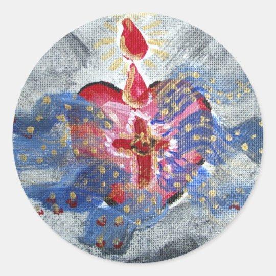 Salvation Heart Sticker