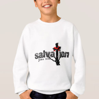 Salvation John 3:16 Christian Sweatshirt