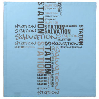 salvation station napkin