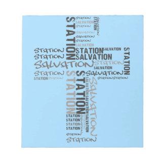 salvation station notepad