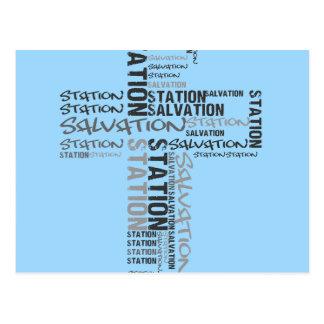 salvation station postcard
