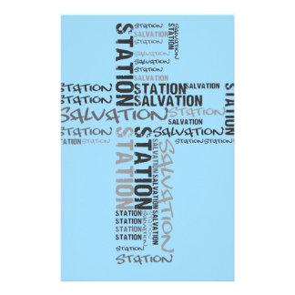 salvation station stationery