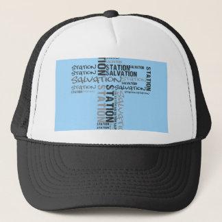 salvation station trucker hat