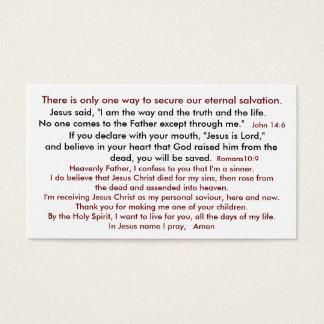 Salvation Thus Heaven 2 Business Card