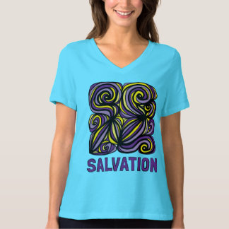 """""""Salvation"""" Women's Relaxed Fit V-Neck T-Shirt"""