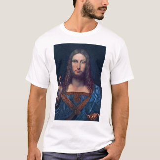 Salvator Mundi by Leonardo da Vinci T-Shirt