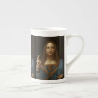 Salvator Mundi by Leonardo da Vinci Tea Cup