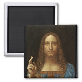 Salvator Mundi Christ with World in His Hand Magnet