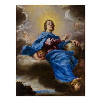 Salvator Mundi - Domenico Fetti Postcard