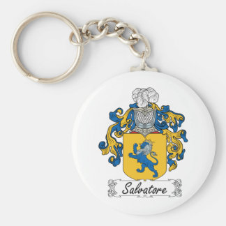 Salvatore Family Crest Keychain