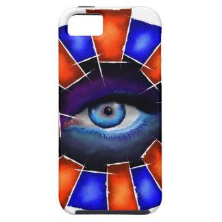 Salvenitus - watching eye iPhone 5 cover