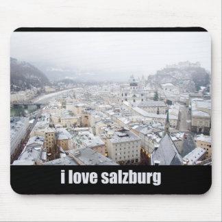 Salzburg (Austria) Photo, I love Salzburg Mouse Pad