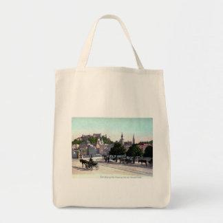Salzburg, Austria, Staatsbrücke, 1910 Vintage Tote Bag