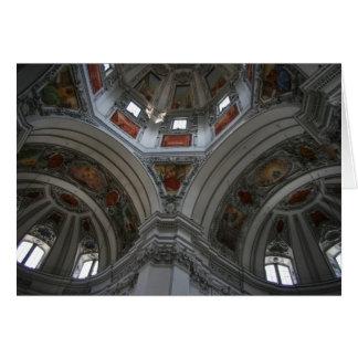 Salzburg Cathedral Card