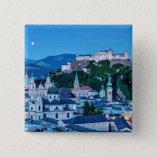 Salzburg city, Austria 2 Inch Square Button