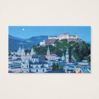 Salzburg city, Austria Business Card