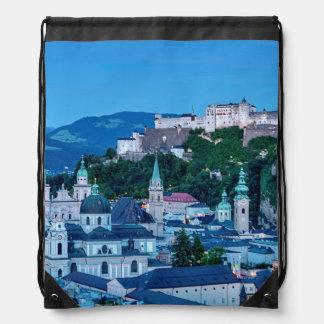Salzburg city, Austria Drawstring Bag