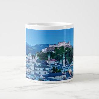Salzburg city, Austria Large Coffee Mug