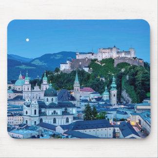 Salzburg city, Austria Mouse Pad