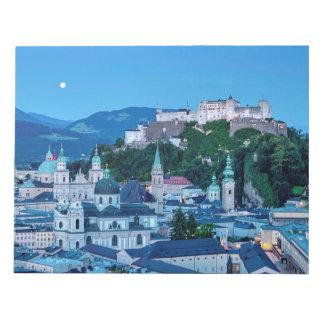 Salzburg city, Austria Notepad