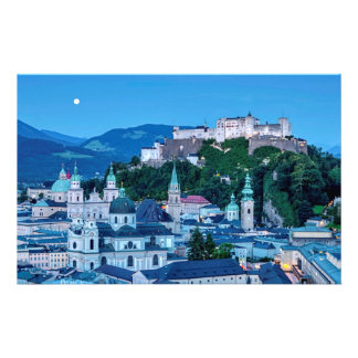 Salzburg city, Austria Stationery