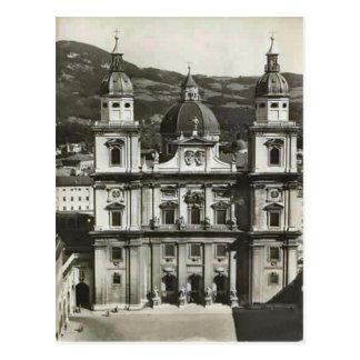 Salzburg, Domkirche Postcard