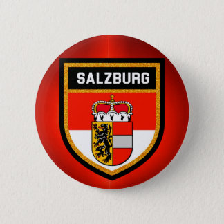 Salzburg Flag 2 Inch Round Button