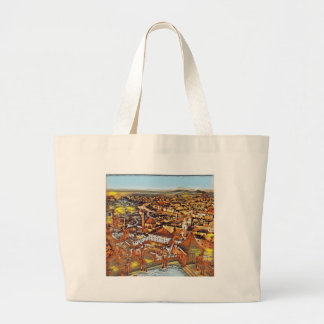 Salzburg In Art Large Tote Bag