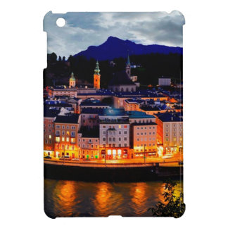 Salzburg Night Skyline iPad Mini Covers