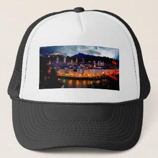 Salzburg Night Skyline Trucker Hat