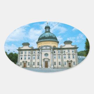 Salzburg Oval Sticker