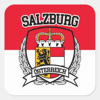 Salzburg Square Sticker