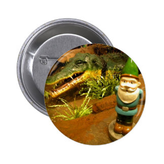Sam and the Gator 2 Inch Round Button