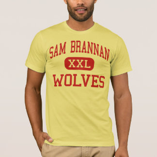 Sam Brannan - Wolves - Middle - Sacramento T-Shirt