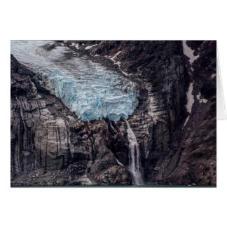 Sam Ford Fjord Glacier, Nunavut Greeting Card