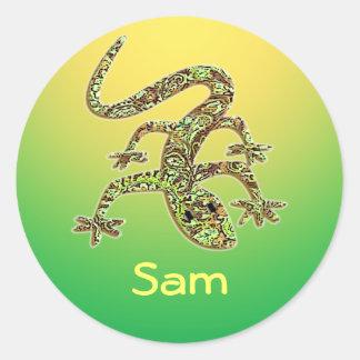 Sam Gecko / Salamander / Lizard Stickers