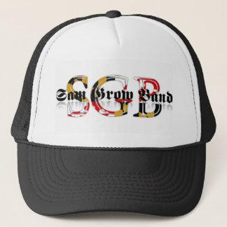 Sam Grow Band Maryland Logo Trucker Hat
