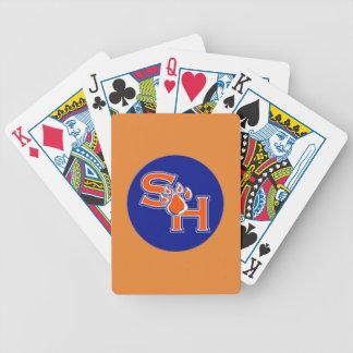 sam houston playing cards