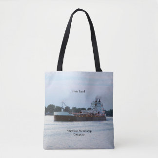 Sam Laud all over tote bag