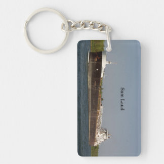 Sam Laud rectangle acrylic key chain