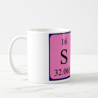 Sam periodic table name mug